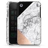 DeinDesign Apple iPhone 3Gs Coque Étui Housse Collage marbre Noir