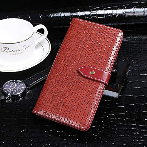 BELLA BEAR Case für Leagoo Z7,Leder Brieftasche Geldbörse Halterung Funktion Weichem PU Material Phone Case Cover for Leagoo Z7 Hülle(Rot)