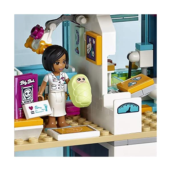 LEGO- Friends L'Ospedale di Heartlake, Multicolore, 41318 5 spesavip
