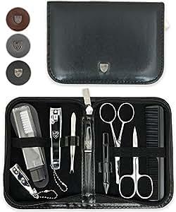 TROIS EPÉES | Kit / set / ensemble / trousse de manicure - manucure - pédicure - beauty / beaute - soins des ongles / personnels / mains / pieds | 10 pièces | marque de qualitè (634511)