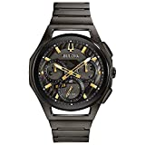 Bulova Mens Chronograph Automatic Watch with Stainless Steel Strap 98A206