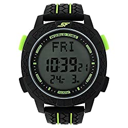 SONATA SF by Sonata Carbon II Series Digital Watch (77058PP02J)
