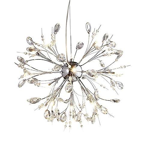 Luxury Crystal Chandelier Living Room Modern Creative Personality Restaurant Bedroom