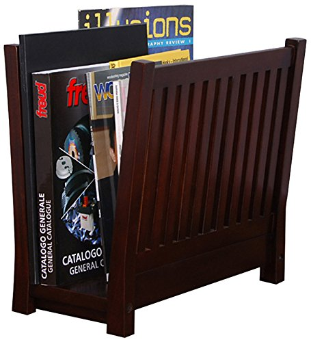 Home Accents Zeitschriftenständer, Mahagoni - Mahagoni Brust