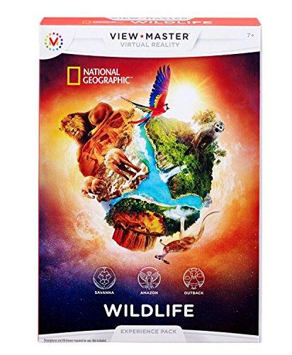 Freigeschaltet Für Handy Kinder (Mattel DLL71 - View Master Erweiterungspack Wildtiere)