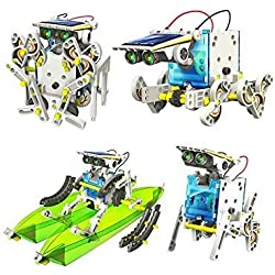 Kit de Robótica Solar | 14 Robots en 1 | Kit de Construcción DIY Juguetes Originales
