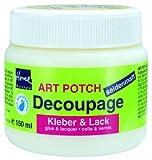Kreul 48251 - Art Potch Decoupage Kleber und Lack seidenmatt 150 ml