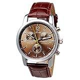 Fashion watch, Amlaiworld New Luxury Fashion Crocodile Faux Leather Mens Analog Watch Watches