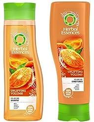 Herbal Essences Raffermissant Volume Set Shampoing & Revitalisant pour full Volume boost avec Orange Douce parfum...