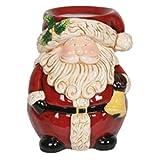 Villaggio Candela Babbo Natale Cera Bruciatore in ceramica BABBO NATALE