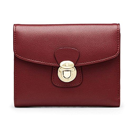 Wallet LCCNew Short Female Fashion Simple Female Multi-Purpose Multi-Card Purse