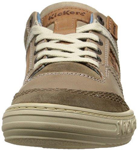 Kickers Jexplore, Baskets Basses homme Gris