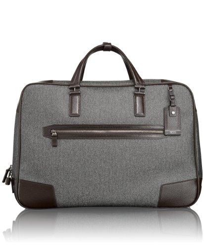 Tumi - Bolsa de viaje gris Earl Grey