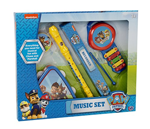 Paw Patrol großes Musik-Set (Pink Kid Drum Set)