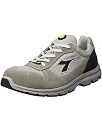 Diadora Run Low S3, Chaussures de travail mixte adulte, Gris (Grigio Castello), 48 EU