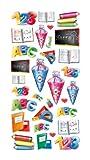 Creapop Sticker Softysticker * Schule II - Einschulung - Schulbeginn * Aufkleber