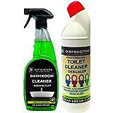 Dirtbusters détartrant et nettoyant pour broyeur de WC 1 l et puissant Idéal pour la salle de bain professionnel...