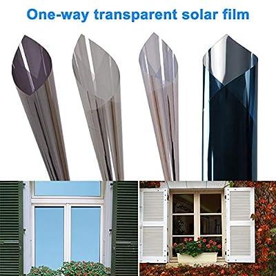 ZREAL Anti fenêtre UV de contrôle de Chaleur de Film Solaire à Sens Unique pour Le siège Social