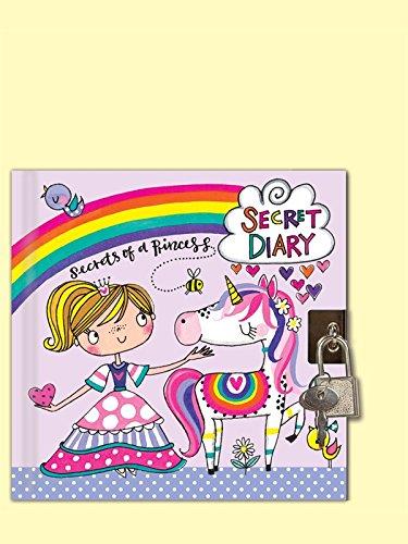 Rachel Ellen Princess Unicorn design bloccabile diario segreto