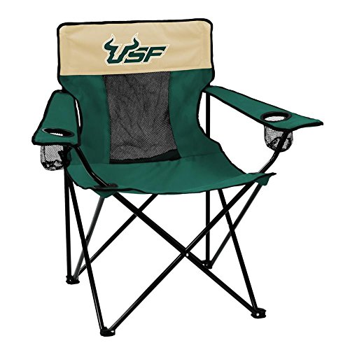 Logo Brands NCAA Unisex Elite Stuhl, Unisex, South Florida Elite Chair, grün, Einheitsgröße