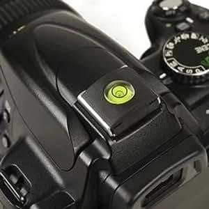Tinxi Coque de protection 2en 1pour griffe et niveau à bulle pour Nikon Canon Olympus Pentax Fuji DSLR/appareils photo reflex