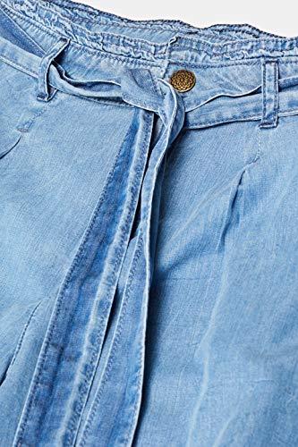 edc by ESPRIT Damen 049CC1B007 Flared Jeans, Blau (Blue Light Wash 903), W27 (Herstellergröße: 27/28) -