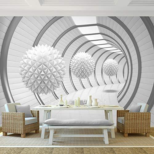 Fototapete 3D – Weiß 396 x 280 cm Vlies Wand Tapete Wohnzimmer Schlafzimmer  Büro Flur Dekoration Wandbilder XXL Moderne Wanddeko – 100% MADE IN ...