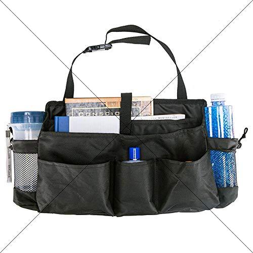 Organisator Lagerung Tasche (GTETUUES Multifunktionsautositz-Organisator-rückseitige Lagerung Mehrfachtaschen-Tasche Justierbare Oxford-Innenzusätze der hohen Kapazität)