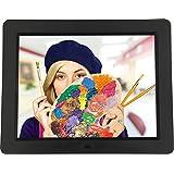 """Rollei Degas DPF 12"""" - Digitaler Multi-Media Bilderrahmen mit 12"""" (30,48 cm) TFT-LED Panel, Bild-, Video-, Musik-, Kalender- und Uhrfunktion, Diashow, inkl. Fernbedienung - Schwarz"""