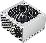 Tooq tqep-500sse-o 1x 1x 20+ 4PIN ATX Netzteil leise Kühlung Lüfter, 4x SATA IDE 4Pin CPU 2x 500Watt 12V Silber