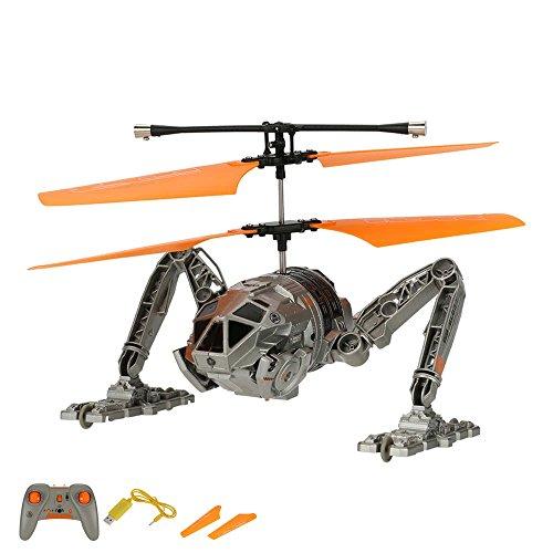 2in1 RC ferngesteuerter Roboter-Hubschrauber und Fahrzeug, Helikopter, Auto, Land- und Flugtauglich, Neu OVP