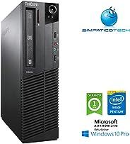 PC Lenovo Thinkcentre M82 SFF Intel Pentium RAM 8Gb HDD 250Gb Windows 10 Professional (Ricondizionato) (8Gb RAM 250Gb HDD)