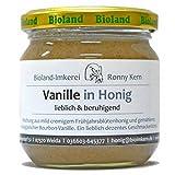 Vanille Honig - Echter Deutscher Bio Bienenhonig aus Thüringen 250g Cremig