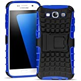 Conie Samsung Galaxy S3 / S3 Neo Outdoor Hülle - Case in Blau Extra Schutz, Robuste Galaxy S3 / S3 Neo Schutzhülle Handyhülle Cover Silikonhülle Rückschale