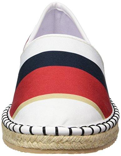 Armani Jeans 9251557p551, Espadrilles femme Multicolore (geranio)