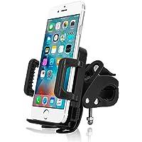 Bingsale Handyhalterung Fahrrad Handyhalterung Handyhalter Fahrrad Verstellbar für iPhone 7 / 7 Plus / 6s / 6s plus 6 / 6 Plus SE / 5S / 5 Samsung Galaxy S7 Edge / S7 / S6 /S5 Huawei P8 P9 Lite Sony LG (Universal Verstellbar)