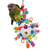 Nuts, Bolts & Binkies Puzzle Parrot Toy - Large
