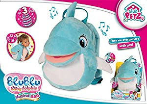 Club Petz- Mochila, Color marrón (IMC Toys 95434)