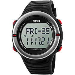 Digital Men's Watch 1111 with Heart Rate Monitor and Sports Function