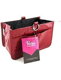 Periea - Organiseur de sac à main, 15 Compartiments - Claire (Rouge)