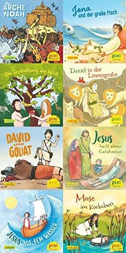 Geschichten aus der Bibel (8x1 Exemplar) (Pixi-8er-Set, Band 243)