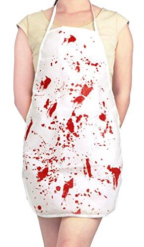 CoolChange Halloween Kostüm blutige (Kostüme Gruselige Halloween Für Frauen)