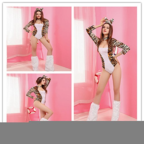 Gorgeous Explosion Modelle Halloween-Kostüme New langärmliges Leoparden Trikot (Trikot Leopard Kostüme)