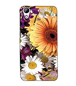 Fuson Designer Back Case Cover for HTC Desire 628 :: HTC Desire 628 Dual Sim (Designer Flower Pattern )