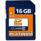 Platinum Carte Mémoire SDHC Class 6 16 Go
