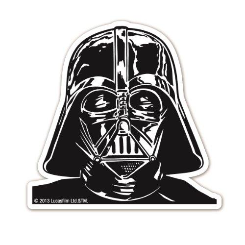 Magnete frigo Dart Fener - Ritratto - Magnete frigorifero Guerre stellari - Le père - magnet Star Wars - Darth Vader - Portrait - a forma - design originale concesso su licenza - LOGOSHIRT