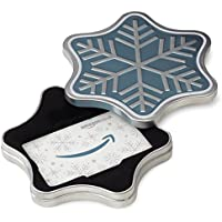 Amazon.co.uk Gift Card for Custom Amount in a Snowflake Tin - FREE One-Day Delivery
