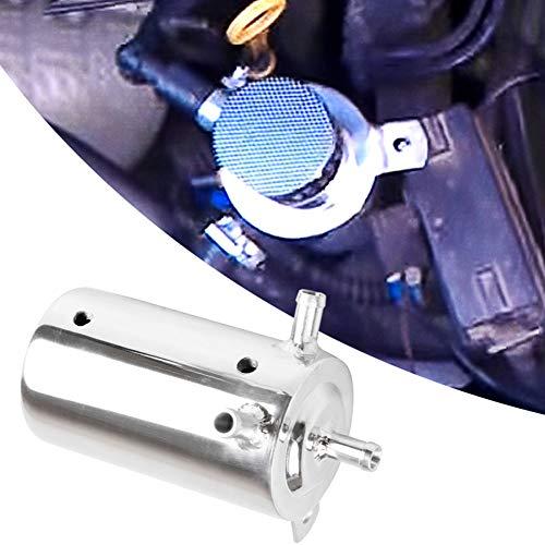 YSHtanj Ölfänger, extern, modifiziertes Reparatur-Werkzeug, 500 ml, Universal-Edelstahl-Ölfängerbehälter, Tankentlüftungsfilter