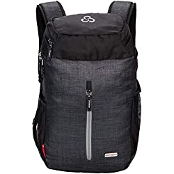 Casual Laptop Backpack - Cosmus Sedna - Dark Grey Trendy College Laptop Bag