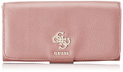 Guess Damen Digital Geldbörse, Pink (Rosewood), 2x10x20 Centimeters